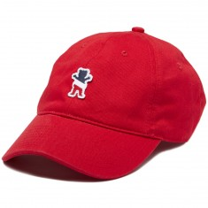 Grizzly X Champion Leader Of The Pack Dad Hat - Red