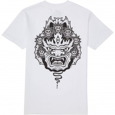 Sketchy Tank Mask T-Shirt - White