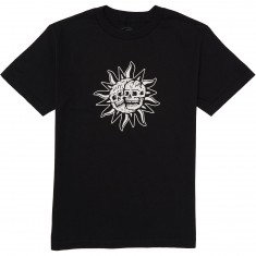 Sketchy Tank Shine T-Shirt - Black