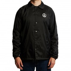 Sketchy Tank Mini Coaches Jacket - Black