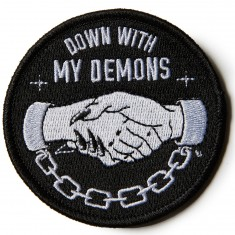 Sketchy Tank Demons Patch Accessories - Black
