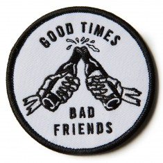 Sketchy Tank Good Times Patch Accessories - White