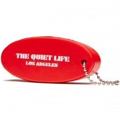 Quiet Life Zone Floatable Keychain - Red