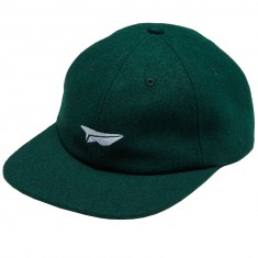 Benny Gold Paper Plane Wool Polo Hat - Green