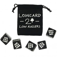 Lowcard Low Rollers Dice - Black