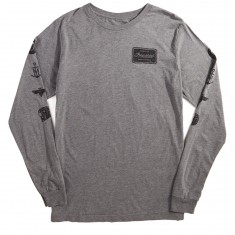 Imperial Motion Flagship Longsleeve T-Shirt - Grey Heather Tri Blend