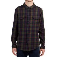 Imperial Motion Townsend Flannel Shirt - Navy