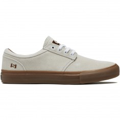State Elgin Shoes - White/Gum Suede