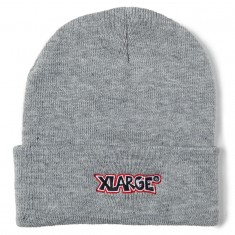 Xlarge Menacing Cuffed Beanie - Grey Heather
