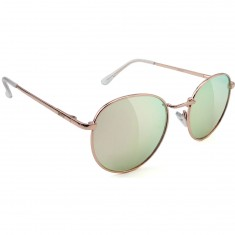 Glassy Ridley Sunglasses - Rose Gold/ Pink Mirror