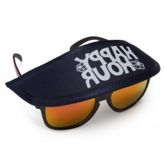 Happy Hour Sunglasses Hat - Navy