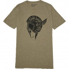 Blood Orange Helmet T-Shirt - Sage