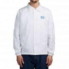 Passport International Tea Towels Coaches Jacket - White