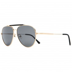Crap Eyewear The Road Crue Sunglasses - Brushed Gold/Gloss Black