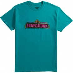 Deathwish Entertainment T-Shirt - Turquoise