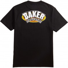 Baker Oval Arch T-Shirt - Black