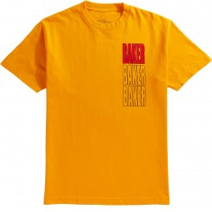 Baker Triple Stacked T-Shirt - Gold