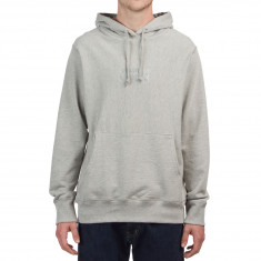 Raised By Wolves Tag Logo Hoodie - Heather Grey French Terry