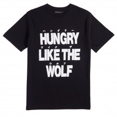 Raised By Wolves Hungry T-Shirt - Black Jersey