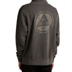 Welcome Tali-Scrawl Pigment-Dyed Hoodie - Black/Color Shifting Ink