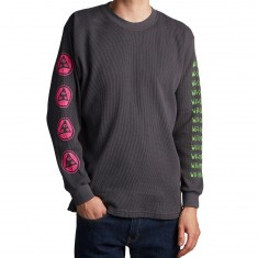 Welcome Creepers Heavyweight Thermal Sweatshirt - Grey