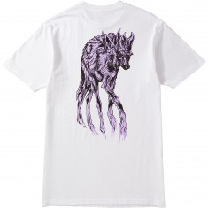 Welcome Maned Woof T-Shirt - White/Lavender
