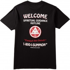Welcome Hotline T-Shirt - Black/Red