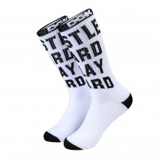 DGK Hustle Crew Socks - White