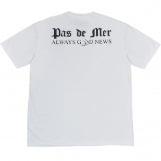 Pas De Mer Good News T-Shirt - White