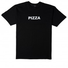 Pizza Logo T-Shirt - Black