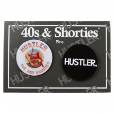 40s And Shorties X Hustler Set of Pin - Multi