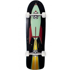 """Lipstick And Rockets 90S Double Drilled Nose Cruiser Skateboard Complete - 9.00"""""""