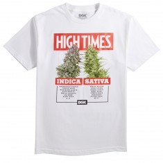 DGK X High Times Options T-Shirt - White