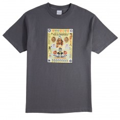 40s And Shorties Poster T-Shirt - Charcoal