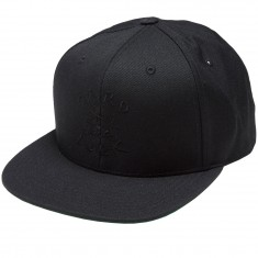 Hard Luck Blacked Out Hat - Black