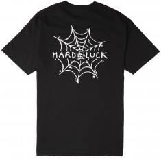 Hard Luck Andy Roy Spiderweb T-Shirt - Black