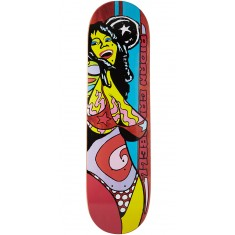 """Foundation Campbell Color Of Women Skateboard Deck - Brown - 8.375"""""""