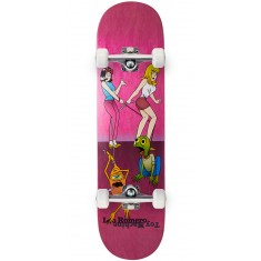 Toy Machine Romero Pets Skateboard Complete - Pink - 8.375""