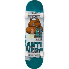 """Anti-Hero Pfanner It's All Shit Skateboard Complete - 8.25"""" - Teal"""