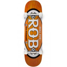 "Real Roll For Rob Skateboard Complete - 8.25"" - Orange"