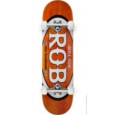 "Real Roll For Rob Skateboard Complete - 8.50"" - Orange"