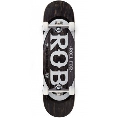 "Real Roll For Rob Skateboard Complete - 8.50"" - Black"