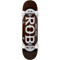 "Real Roll For Rob Skateboard Complete - 8.06"" - Brown"
