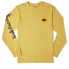 Transworld ON Video Long Sleeve T-Shirt - Yellow
