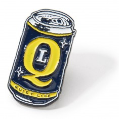 The Quiet Life Beer Can Lapel Pin - Metal
