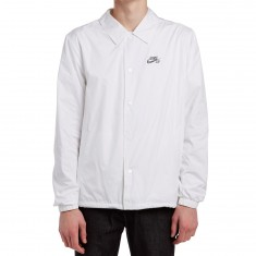 Nike SB Shield Coaches Jacket - White/Anthracite