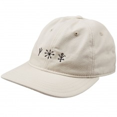 Welcome Signs Unstructured 6-Panel Slider Hat - Stone/Black