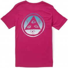 Welcome Talisman T-Shirt - Pink/Blue/White