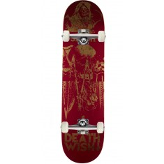 Deathwish Colors Of Death 2 Skateboard Complete - Slash - 8.12