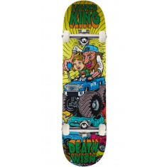 Deathwish Monster Truck Skateboard Complete - Lizard King - 8.25